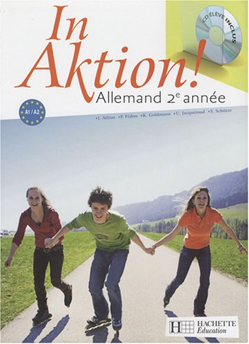 In aktion ! Allemand 2e anne (1CD audio)