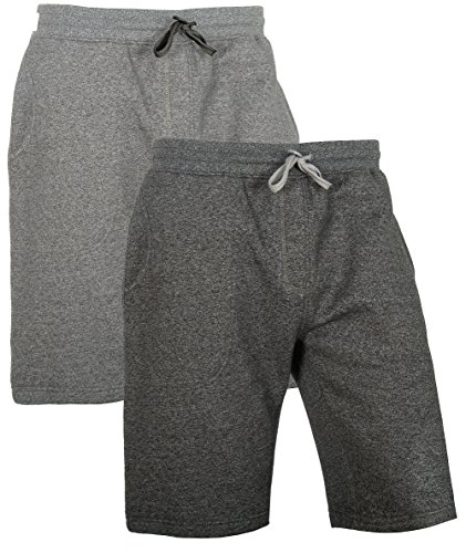 full time sports Lässige Tech-Pool-Shorts Small, Grau