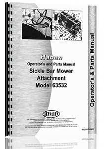 Haban all 4' & 5' Sickle Bar Mower Attachment Operators & Parts