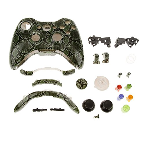 Imported Full Housing Shell Case Kits for Xbox 360 Wireless Controller -Snake skin  available at amazon for Rs.520