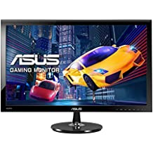 "Asus VS278H - Monitor de 27"" Full HD (1920x1080, panel TN, 1ms, Tecnología LED, HDMIx2, D-Sub, Altavocesx2 2W), color negro"