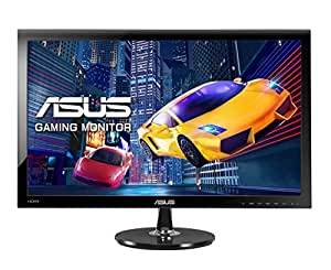 Asus VS278H Gaming Monitor, 27'' FHD 1920x1080, 1 ms, 300 cd/m², HDMI, D-Sub