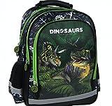 DINOSAURIER DINO Schulrucksack Rucksack Tasche 37 x 28 x 19 cm + Sticker von kids4shop