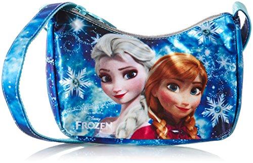 Frozen d96026 mc borsa sportiva per bambini, 17 cm, multicolore