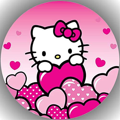 (Premium Esspapier Tortenaufleger Tortenbild Geburtstag Hello Kitty N6)