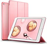 iPad Mini 4 Case, ESR® iPad Mini 4 Smart Case Cover Synthetic Leather and Translucent Frosted Back Magnetic Cover with Auto Wake & Sleep Function [Ultra Slim] [Light Weight] for Apple iPad Mini 4 (Sweet Pink)
