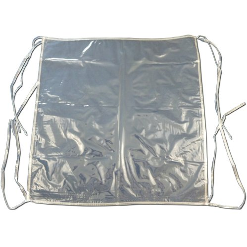 6 X Clear Plastic Dining Chair Seat Cushion Covers Protectors