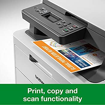 Brother DCP-L3510CDW Colour Laser Printer - All-in-One, Wireless/USB 2.0, Printer/Scanner/Copier, 2 Sided Printing, A4 Printer, Small Office/Home Office Printer