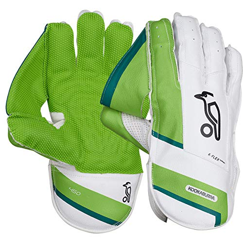 KOOKABURRA Cricket Wicket Keeping Gloves 450 Junior Small