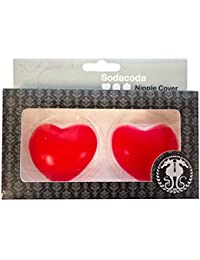 SODACODA Silicone Nipple Covers - CIRCLE, HEART or PETAL Cover - Self Adhesive and Reusable – PREMIUM QUALITY