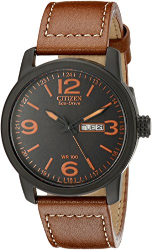 citizen-mens-eco-drive-brown-leather-strap-watch-bm8475-26e