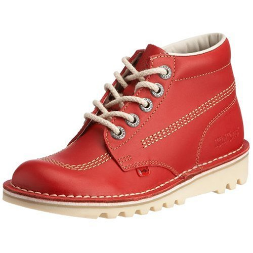 Kickers Kick Hi W Core, Damen Kurzschaft Stiefel Rot (Red)