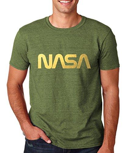 Daataadirect  Herren T-Shirt Militärgrün (Heather Military Green)