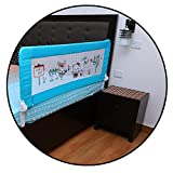 #2: Safe-O-Kid -Large (1.8 mtr) Premium, Fit-all, Easy to Install, One-Hand Operate, Washable Bed Rails - Full Bed Size (6 ft)