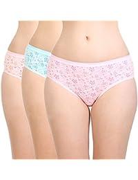 BODYCARE Women's Cotton Briefs (Pack of 3)