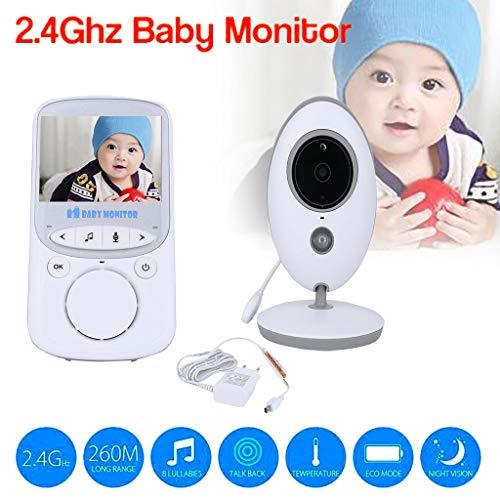 jieGREAT  Babyphone Räumungsverkauf  , Baby-Monitor 2,4 GHz Farbe LCD-Audiogespräch Nachtsicht Wireless Digital Video EU - Baby-video-monitor-sommer