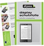 dipos I 2X Schutzfolie matt passend für Tolino Epos eBook Reader Folie Displayschutzfolie