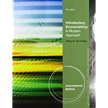 Introductory Econometrics, International Edition