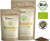 Bio-Koriander-Samen ganz (500g) Bio Koriandersaat vom-Achterhof Koriandersamen coriander organic