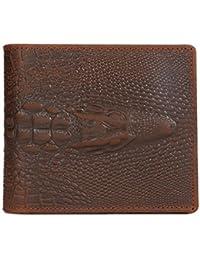Kattee - Portefeuille en cuir Portefeuille pour homme en cuir Portefeuille homme Porte-monnaie en cuir