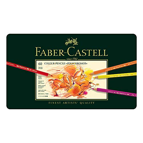 Faber Castell 110060 Farbstift Polychromos Metalletui