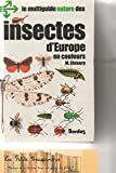 Les Insectes d'Europe en couleurs