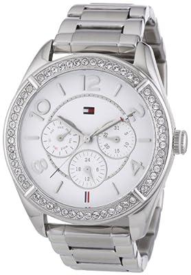 Reloj para mujer Tommy Hilfiger 1781252, mecanismo de cuarzo, diseño con varias esferas, correa de acero inoxidable.
