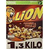 Nestlé Lion - Céréales du Petit Déjeuner - Paquet de 1,3 kg - Lot de 3