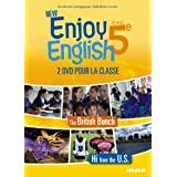 New Enjoy English 5e - Coffret 2 DVD classe