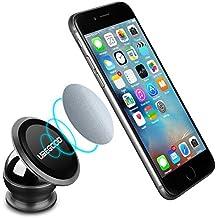 Ubegood Magnet Handyhalterung Auto Halterung Universal KFZ Halter für iPhone 6S/6Plus /6/5S ,Samsung Galaxy S6/S5, Galaxy Note 4/3 und jedes andere Smartphone oder GPS-Gerät (Schwarz)