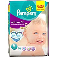 Pampers Active Fit Couches Taille 5 Grand Lot de 48 couches