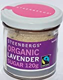 Organic Fairtrade Lavender Sugar 120g - Steenbergs