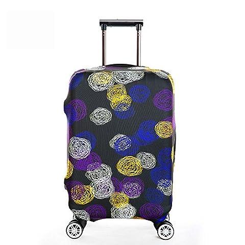 OneSky-UK Gepäckabdeckung, personalisiertes schützendes haltbares waschbares, Koffer-Schutz-Größe passt 18-32 Zoll (XL(29-32