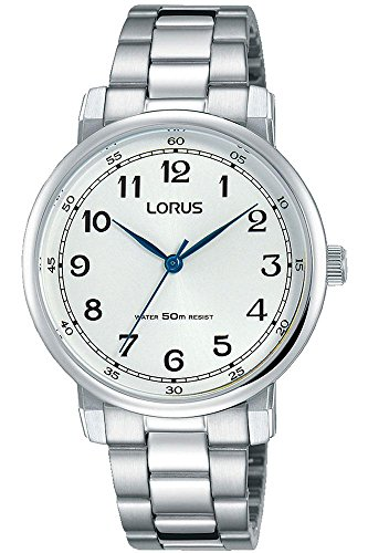 Lorus Womens Analogue Quartz Watch with Stainless Steel Strap RG287MX9