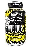Master ZX | Tribulus - Tribulus Terrestris 800mg Regula el nivel de testosterona 120 Cápsulas