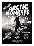 Arctic Monkeys Signiert Autogramme 21cm x 29.7cm Plakat Foto