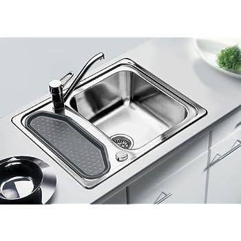 Blanco Classic 45 Einbau Edelstahl-Spüle Auflagespüle Küchen-Spüle ... | {Spülbecken blanco 74}