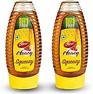 Dabur Honey - World's No.1 Honey Brand - Squeezy pack - 400 gm ( Buy 1 Get 1 F