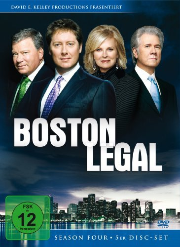 DVD * Boston Legal - Staffel 4 [Import allemand]