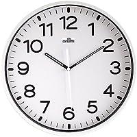 Orium 2116790021 - Reloj silencioso, 30 cm diámetro, color blanco