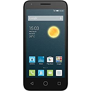 Alcatel One Touch Pixi 3 4G UK SIM-Free Smartphone - Black