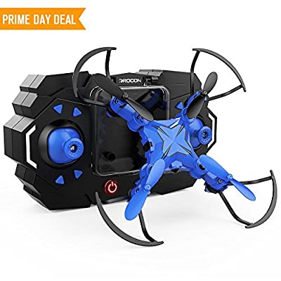 DROCON Scouter Foldable Mini RC Drone for kids Quadcopte with Altitude Hold 3D Flips and Headless Mode Easy Fly for Beginners