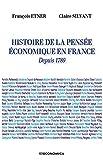 Histoire de la pensée éconnomique en France depuis 1789
