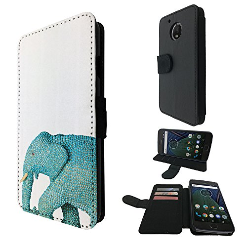 001918-cool-wildlife-blue-indian-african-elephant-tusks-design-motorola-moto-g5-book-style-purse-wal