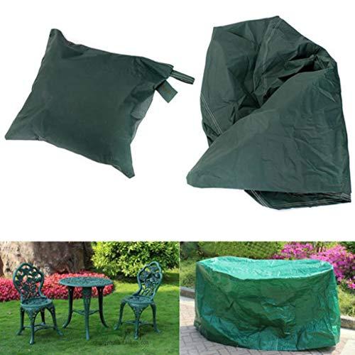 Yongse 95x140cm Meubles de jardin Outdoor Imperméable Respirant ronde Dust Cover Table Shelter