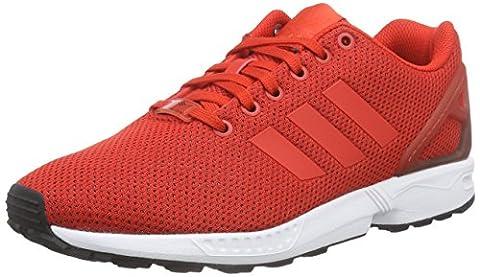 adidas ZX Flux, Herren Laufschuhe, Rot (Red/Core Black/Ftwr White), 44 2/3 EU (10 Herren UK)
