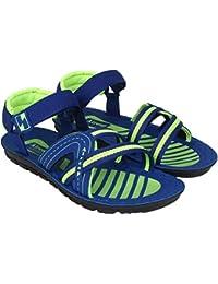 World Wear Footwear Men/Boys Blue-935 Sandals & Floaters