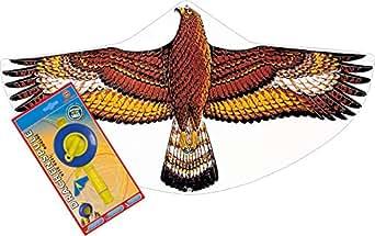 Günther - Kinderdrachen Steinadler + 60m Drachenspule (Funktioniert wie eine Angel) | Reißfestigkeit 10 kp
