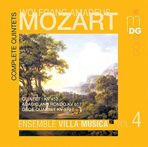 Mozart: String Quintets Vol. 5, Oboe Quartet (2004-01-20)