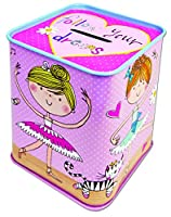 Rachel Ellen Tin Money Box Ballerina